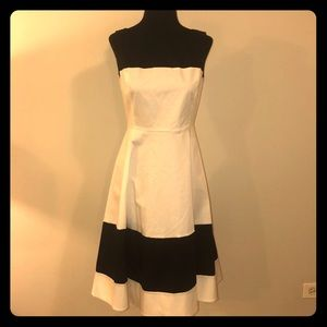 Kate Spade Color Blocked Midi Swing Dress 4